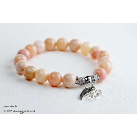 Achaiah - pink opál