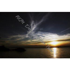 Angyali naplemente vászonkép