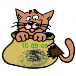 Zsákbamacska 10 db-os