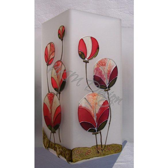 Gömbvirágok váza