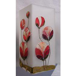 Gömbvirágok lámpa